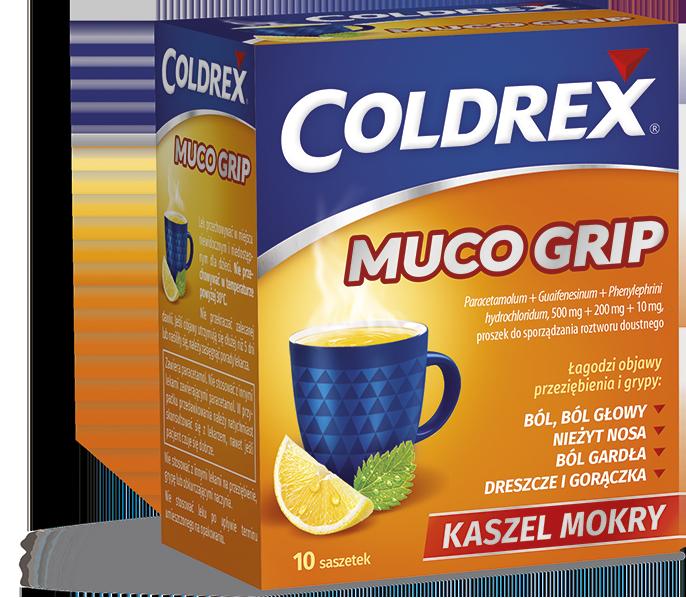 Coldrex MucoGrip  saszetki
